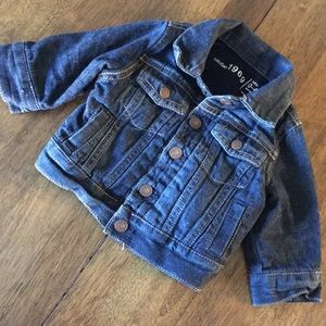 Baby Gap 1969 Blue Jean Jacket - Sz 0-6 Months